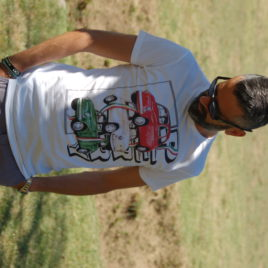 "T-SHIRT UOMO "" PERRY ITALIA"""